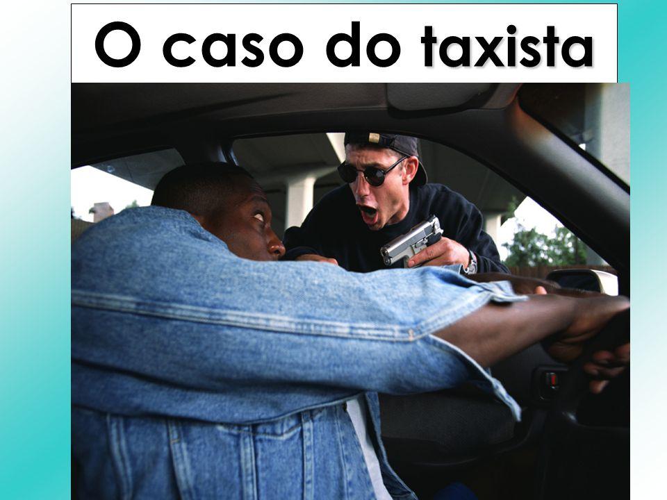 1.Taxista assaltado e baleado. 2.