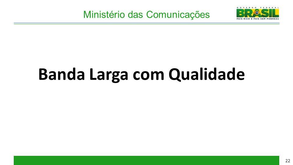 Ministério das Comunicações Banda Larga com Qualidade 22