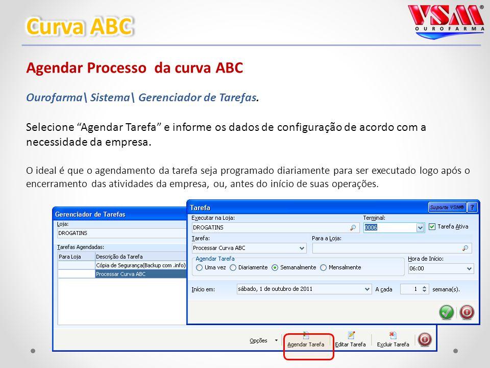 Agendar Processo da curva ABC Ourofarma\ Sistema\ Gerenciador de Tarefas.