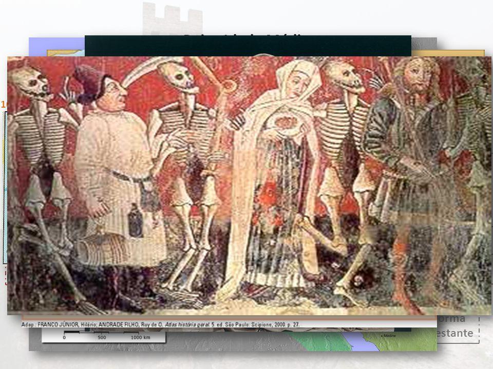 Crise do Século XIV Baixa Idade Média A desagregação do Feudalismo 109615171270 As Cruzadas Renascimento Comercial e Urbano 1139 Formação das Monarquias Nacionais Expansão Marítima 1415 Renascimento Cultural 13001348 Reforma Protestante 1453 Quais foram as condições históricas que provocaram a desagregação do feudalismo.