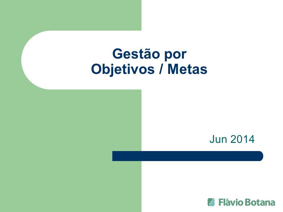 Gestão por Objetivos / Metas Jun 2014