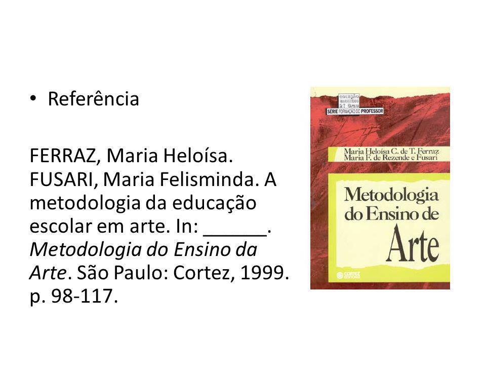 Prática de Ensino III – Metodologia do Ensino da Arte Aula 2 Prof.ª Dda. Ana Luiza Bernardo Guimarães