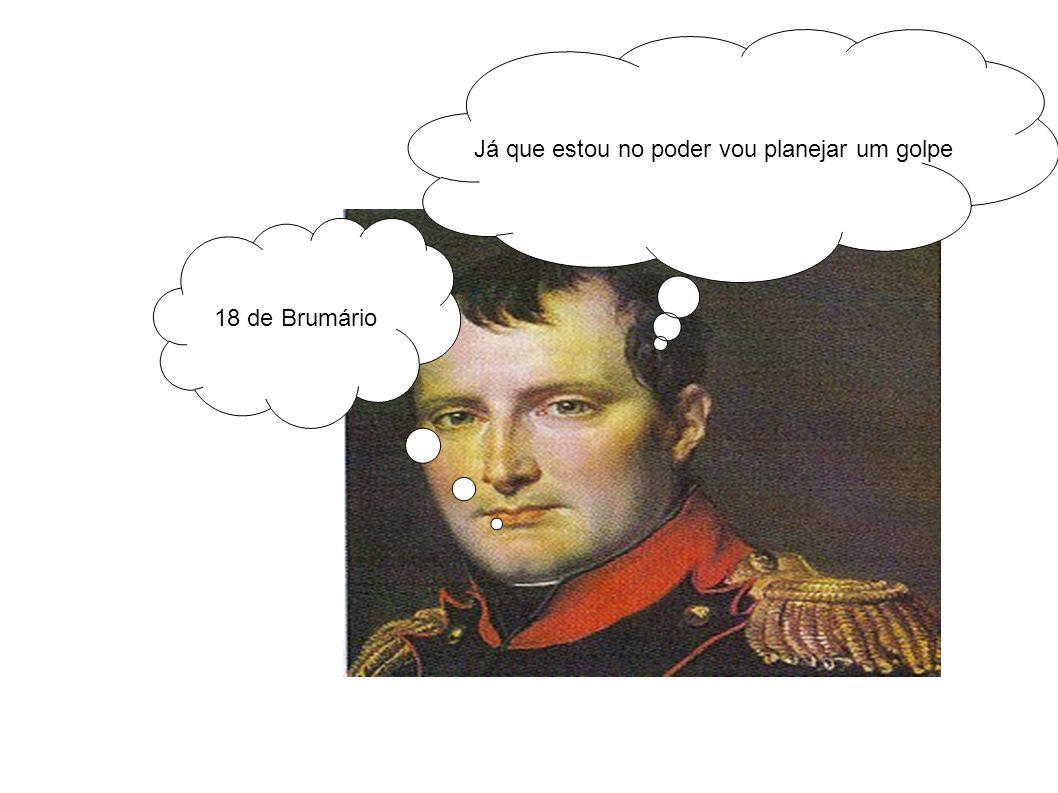 O rei sumiu! Elegem Bonaparte!