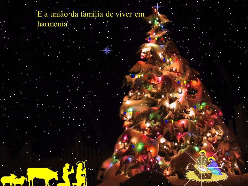 E o amor dentro de cada Coração o natal alem de ser Momento de oração