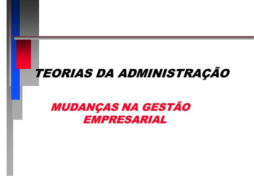 Prof. JOÃO LUIZ DE SOUZA LIMA MUDANÇAS NA GESTÃO EMPRESARIAL