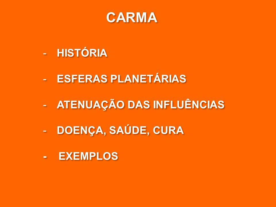 -HISTÓRIA -ESFERAS PLANETÁRIAS -ATENUAÇÃO DAS INFLUÊNCIAS -DOENÇA, SAÚDE, CURA - EXEMPLOS -HISTÓRIA -ESFERAS PLANETÁRIAS -ATENUAÇÃO DAS INFLUÊNCIAS -DOENÇA, SAÚDE, CURA - EXEMPLOS