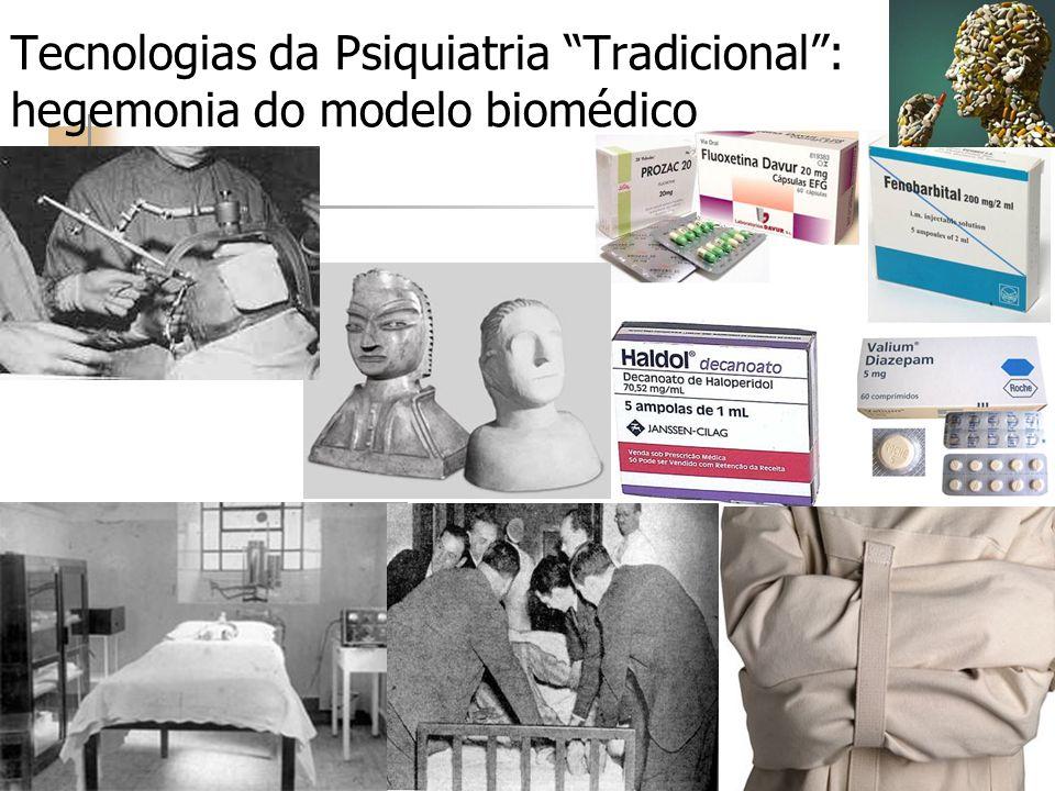 Tecnologias da Psiquiatria Tradicional : hegemonia do modelo biomédico