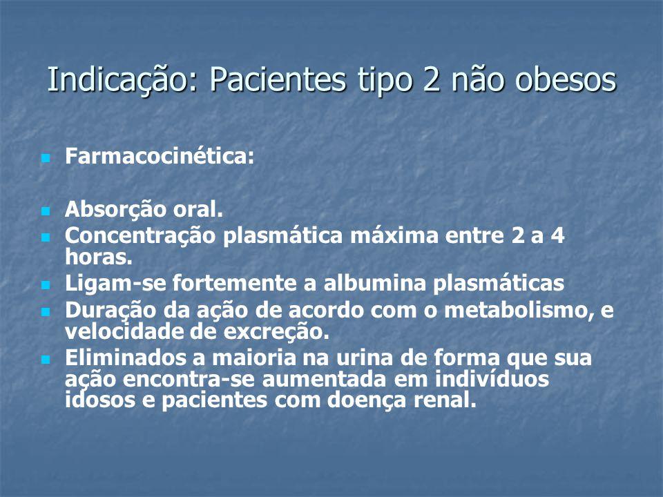 Farmacocinética: Absorção oral. Concentração plasmática máxima entre 2 a 4 horas. Ligam-se fortemente a albumina plasmáticas Duração da ação de acordo