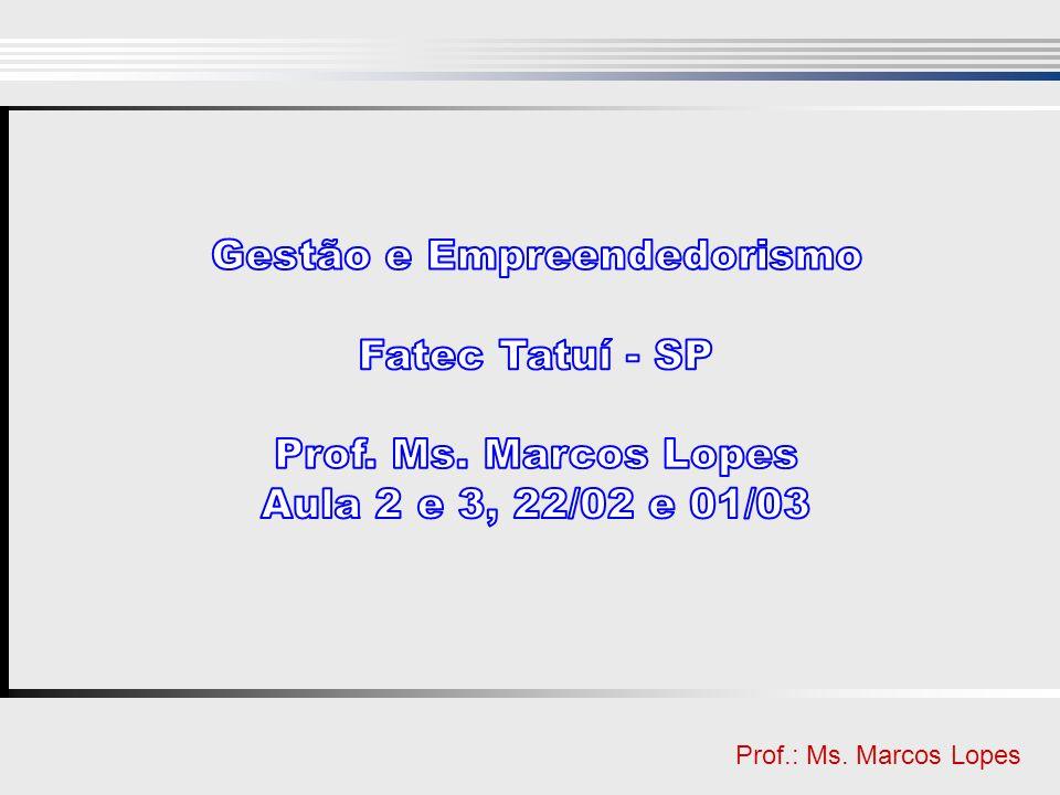 Clique para editar o estilo do título mestre Clique para editar o estilo do subtítulo mestre Prof.: Ms. Marcos Lopes