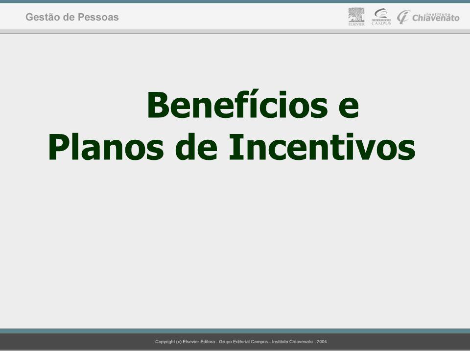 Benefícios e Planos de Incentivos