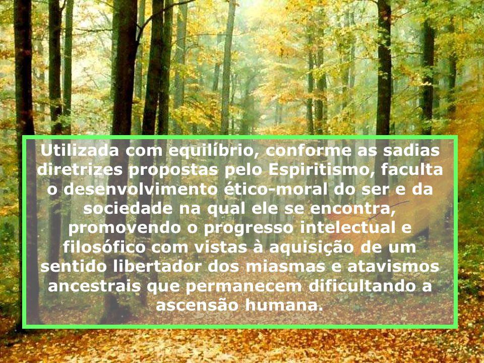 Possuindo finalidades específicas, quais demonstrar a imortalidade do Espírito, contribuir terapeuticamente para a saúde espiritual, desvelar a realid