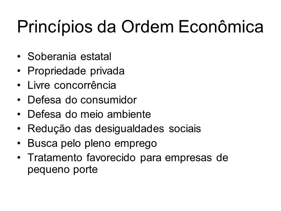 Formas de atuação do Estado no Domínio Econômico  Estado Regulador  Estado Executor
