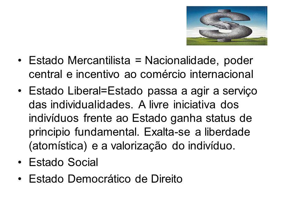Constitucionalização Normativa A Constituição do México de 1917 e a Constituição de Weimar de 1919, apresentam pela primeira vez a tendência de atuação do Estado no domínio econômico.