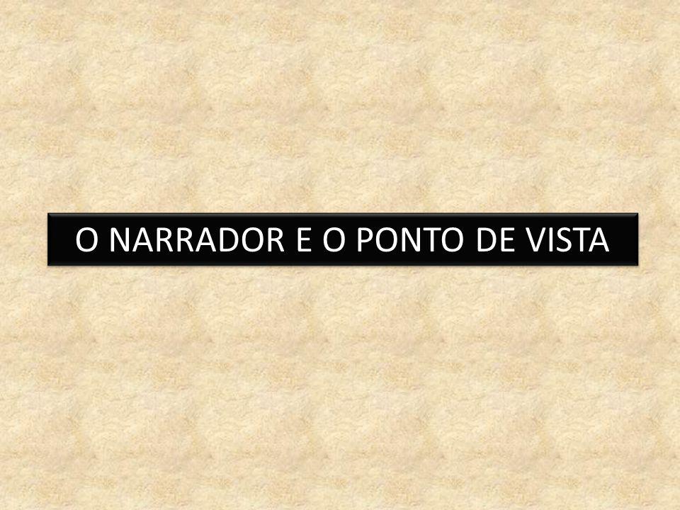 O NARRADOR E O PONTO DE VISTA