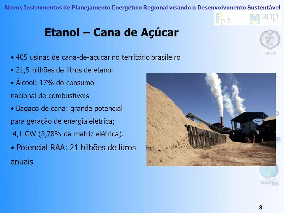 Novos Instrumentos de Planejamento Energético Regional visando o Desenvolvimento Sustentável 7 Biomassa