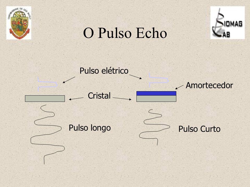 Pulso longo Pulso Curto Pulso elétrico Cristal Amortecedor O Pulso Echo
