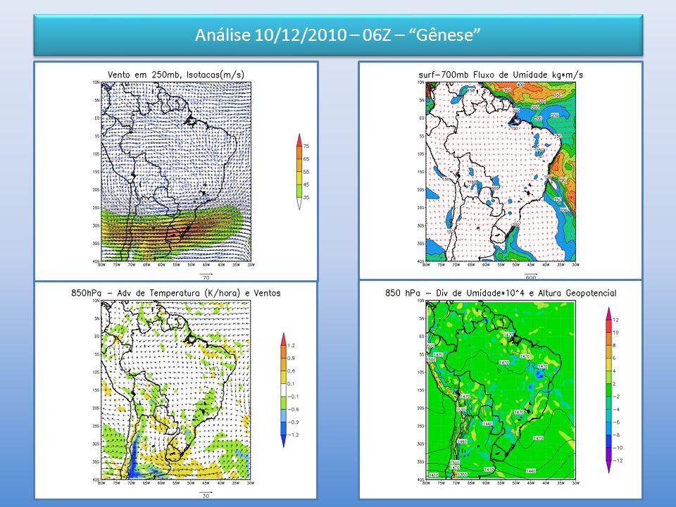"""Análise 10/12/2010 – 06Z – """"Gênese"""""""