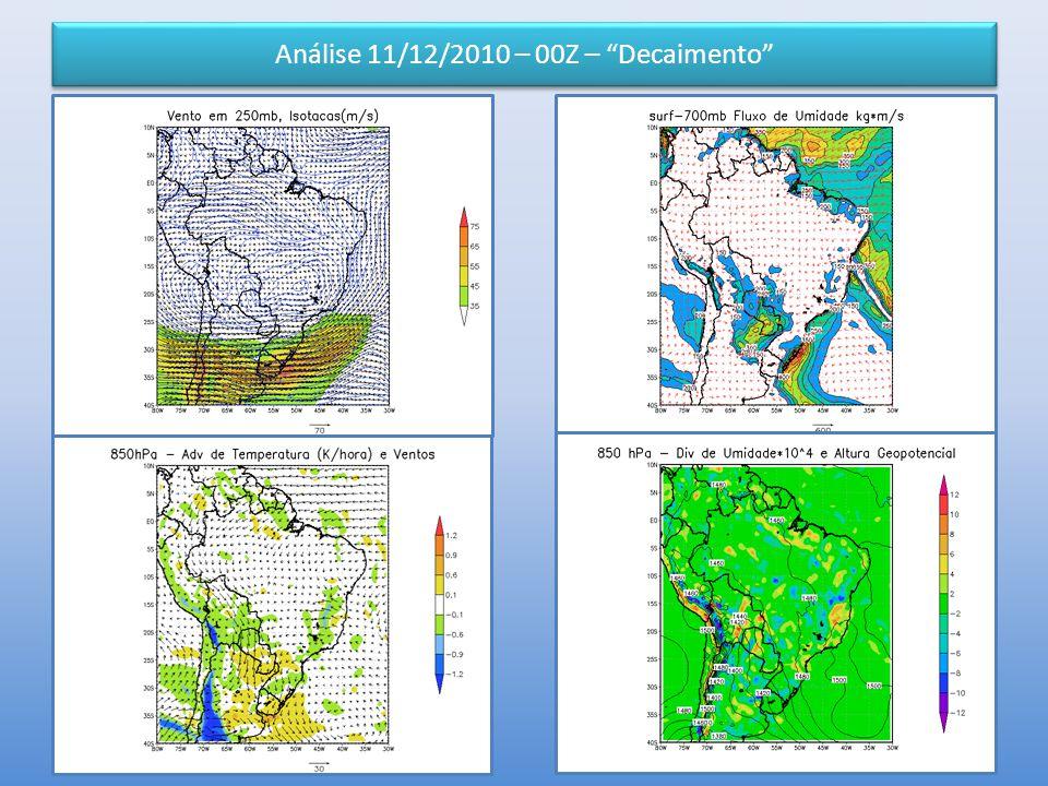 """Análise 11/12/2010 – 00Z – """"Decaimento"""""""