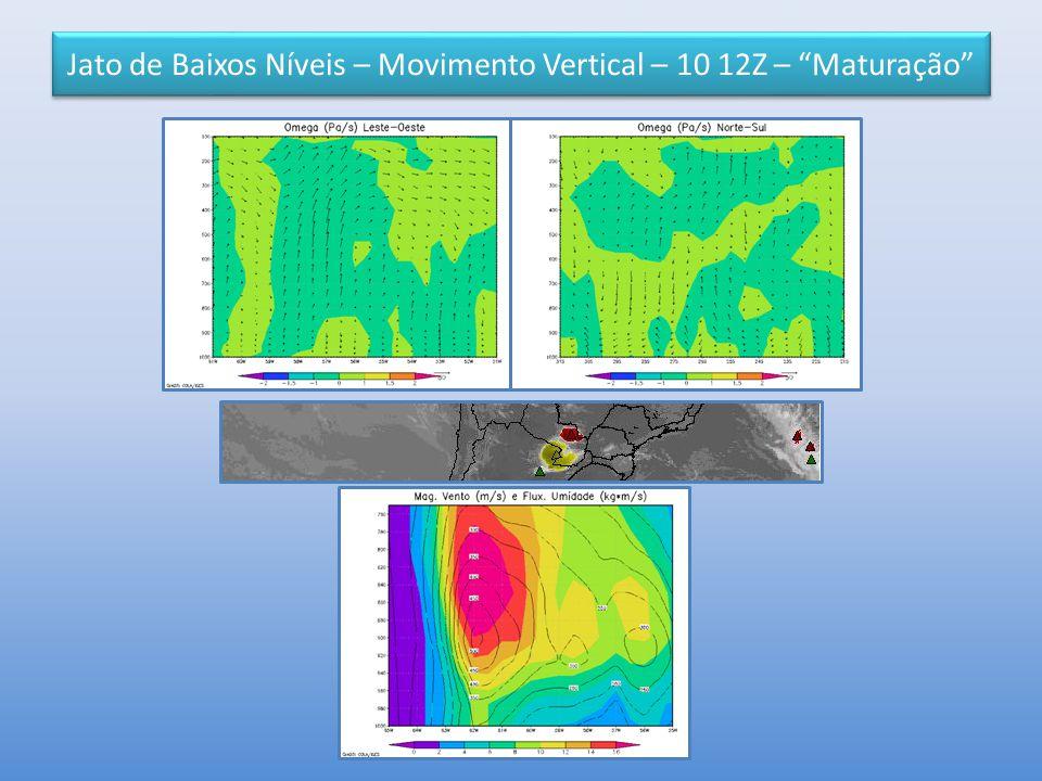 """Jato de Baixos Níveis – Movimento Vertical – 10 12Z – """"Maturação"""""""
