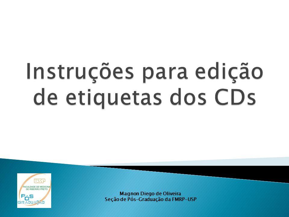 Magnon Diego de Oliveira Seção de Pós-Graduação da FMRP-USP
