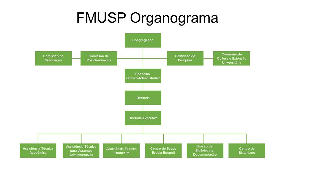 FMUSP Organograma