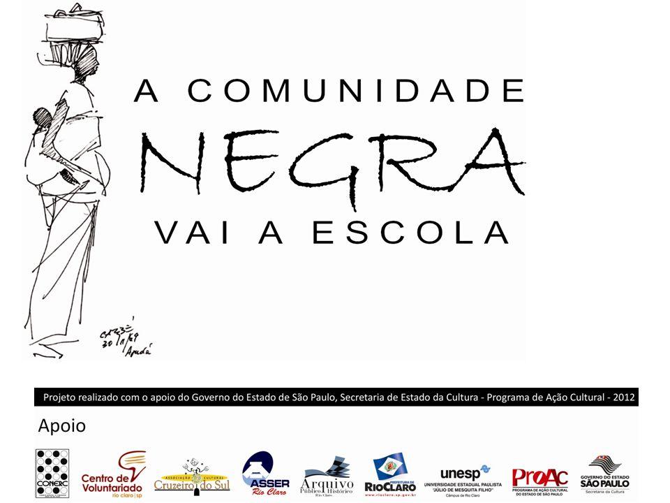 Implementação da Lei 10639/03 em Rio Claro Contato: Tel – 19-3522.1938/ 19-9676.2708 Rua 6, 3265 – Alto do Santana Rio Claro/São Paulo E-mail – arquivo@aphrioclaro.sp.gov.brarquivo@aphrioclaro.sp.gov.br teresa.arruda@rioclaro.sp.gov.br teresa-arruda@hotmail.com