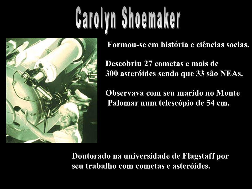 Descobriu 27 cometas e mais de 300 asteróides sendo que 33 são NEAs.