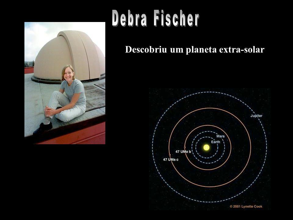 Descobriu um planeta extra-solar