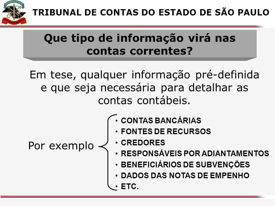 X TABELAS AUXILIARES - CADASTROS Trazem informações em texto (cadastros), relacionados aos códigos utilizados X TRIBUNAL DE CONTAS DO ESTADO DE SÃO PA