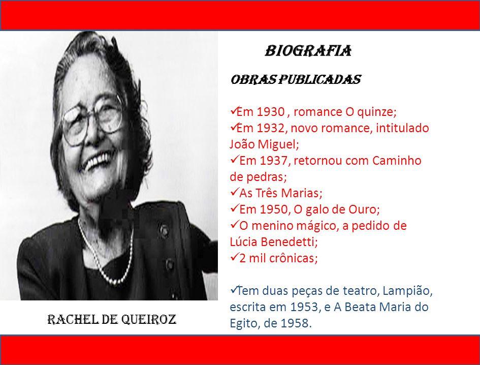 O Quinze O Quinze procura mostrar como era a vida da população do Ceará durante uma época muito triste da história.