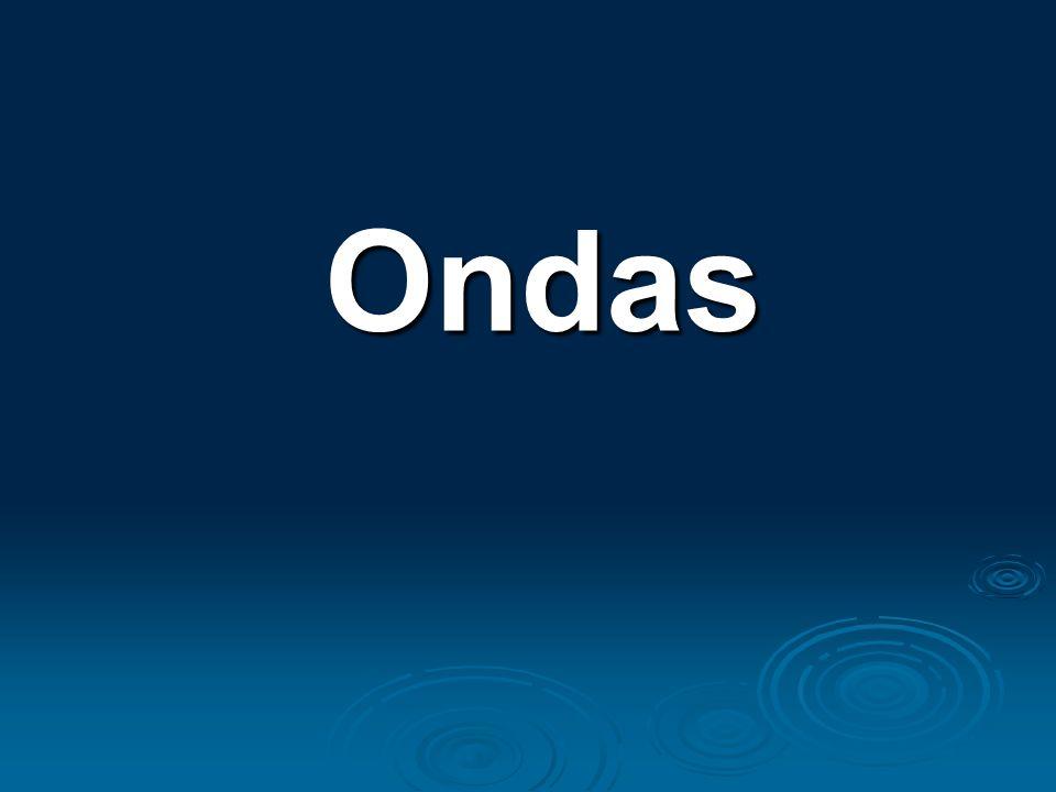 MEIO : onde a onda se propaga Onda &Meio ondas na água água ondas em cordas corda som ar luz vácuo Movimento Ondulatório ONDAS : Oscilação