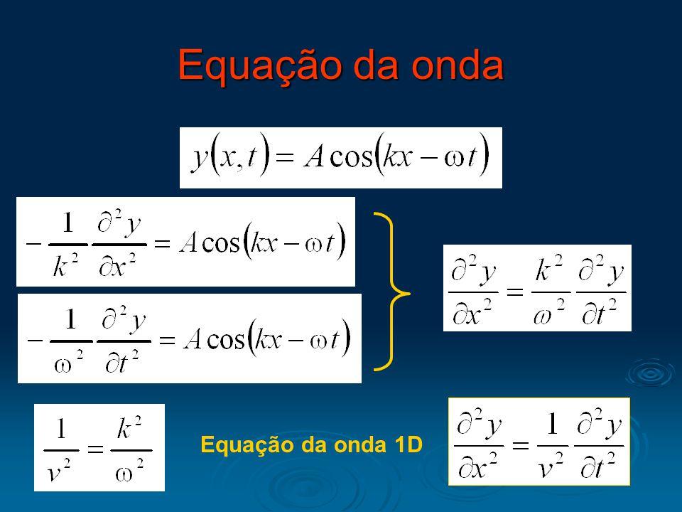 Equação da onda 1D Equação da onda