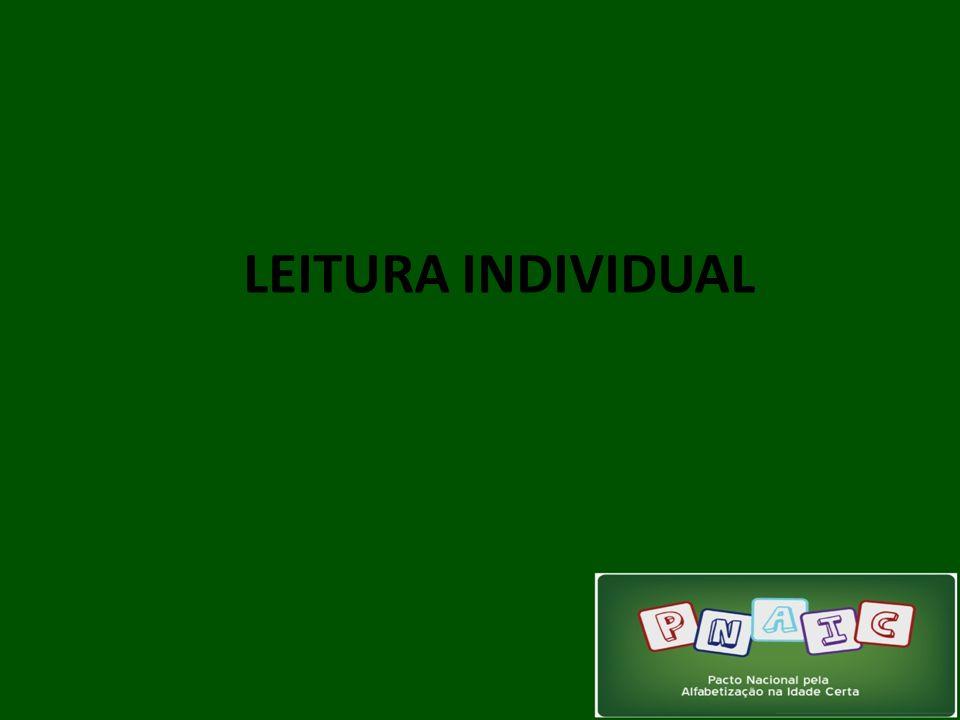 LEITURA INDIVIDUAL