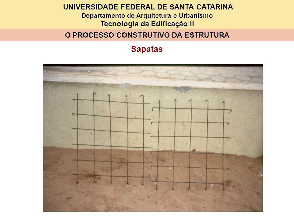 UNIVERSIDADE FEDERAL DE SANTA CATARINA Departamento de Arquitetura e Urbanismo Tecnologia da Edificação II O PROCESSO CONSTRUTIVO DA ESTRUTURA VISÃO GERAL BETONEIRA BOMBA