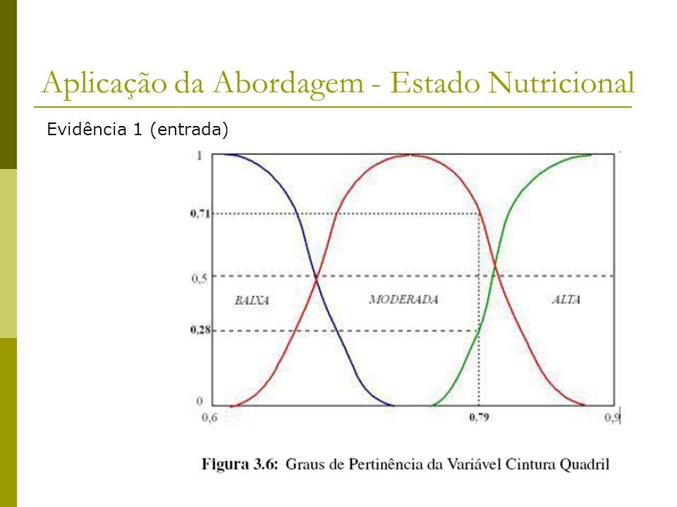 Aplicação da Abordagem - Estado Nutricional Evidência 1 (entrada)