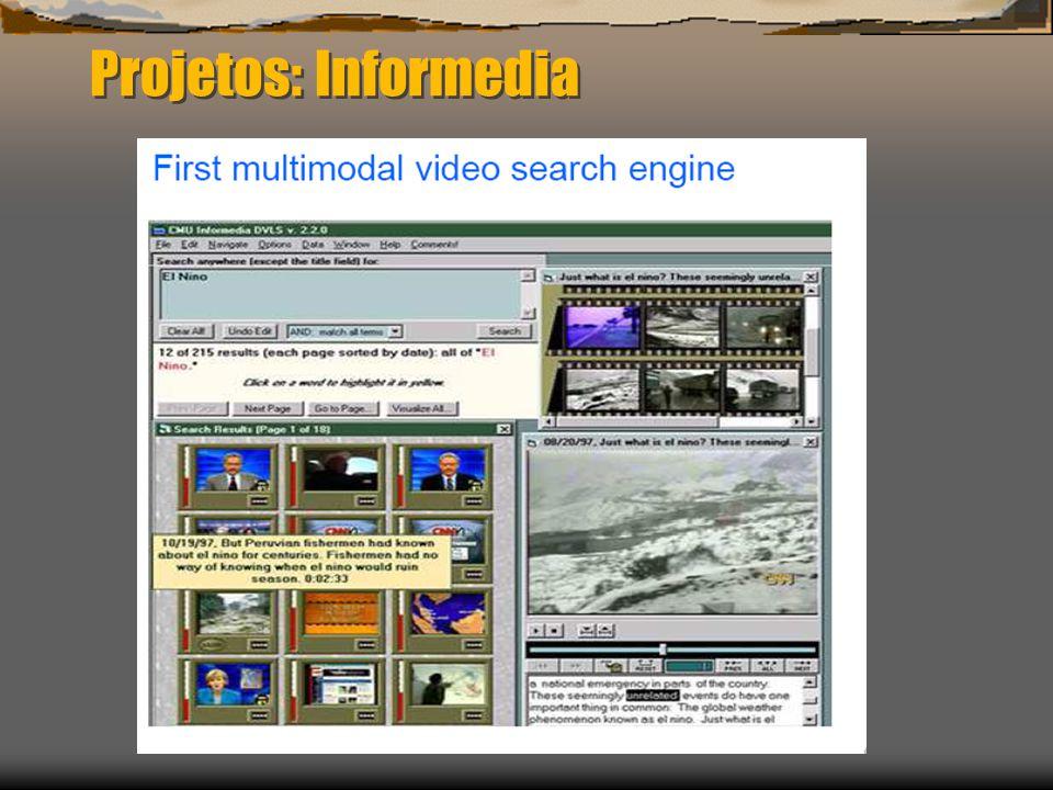 Projetos: Informedia