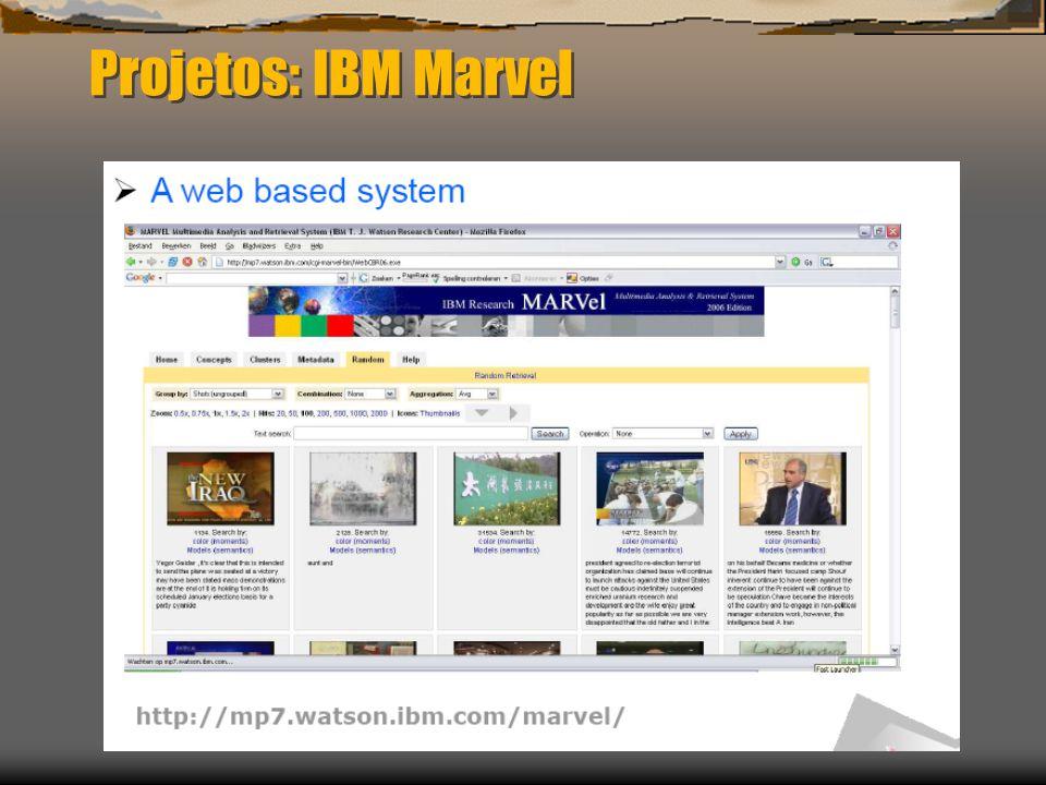 Projetos: IBM Marvel