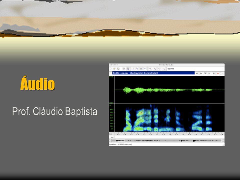 Áudio Prof. Cláudio Baptista