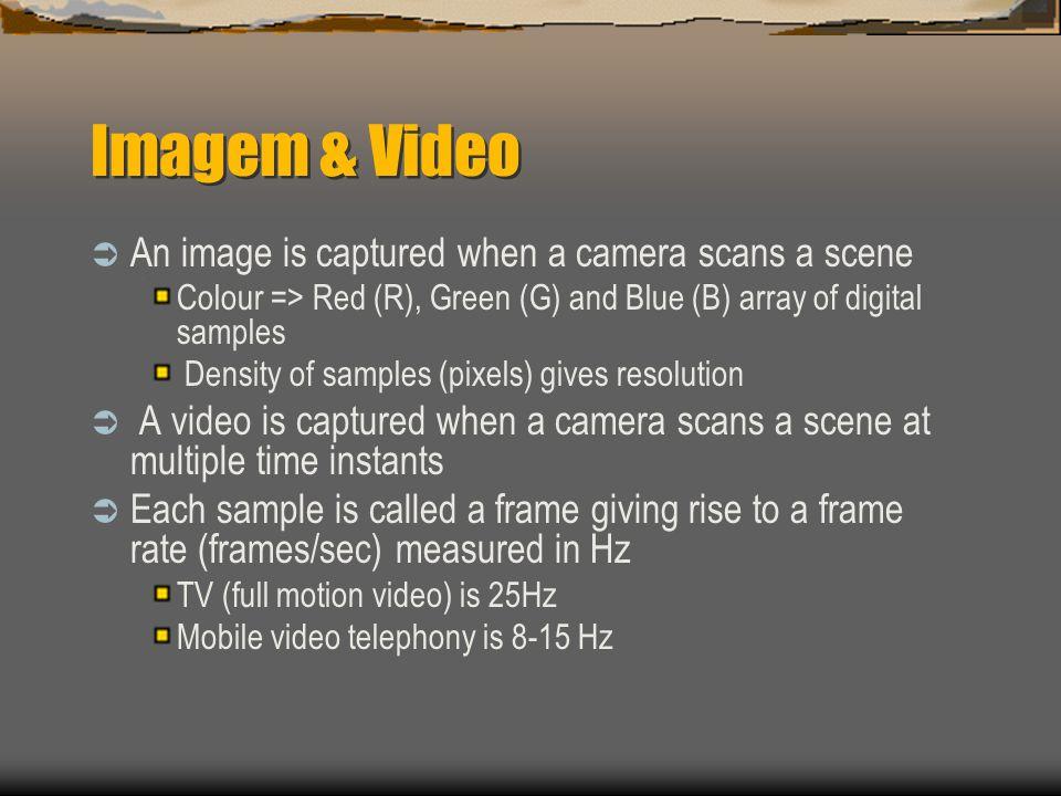Conceitos de Vídeo  O objeto ORDVideo é semelhante ao ORDAudio Mudanças apenas nos metadados e nos métodos de determinação automática  Assim como para áudio, o ORDVideo extrai metadados para os formatos mais populares  Armazena e recupera qualquer tipo de vídeo