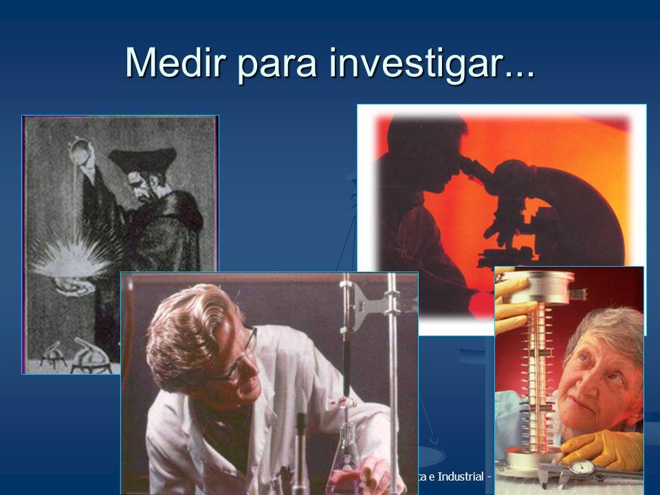 Fundamentos da Metrologia Científica e Industrial - Capítulo 1 - (slide 18/30) Medir para investigar...