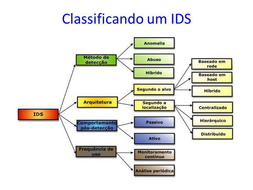 Classificando um IDS