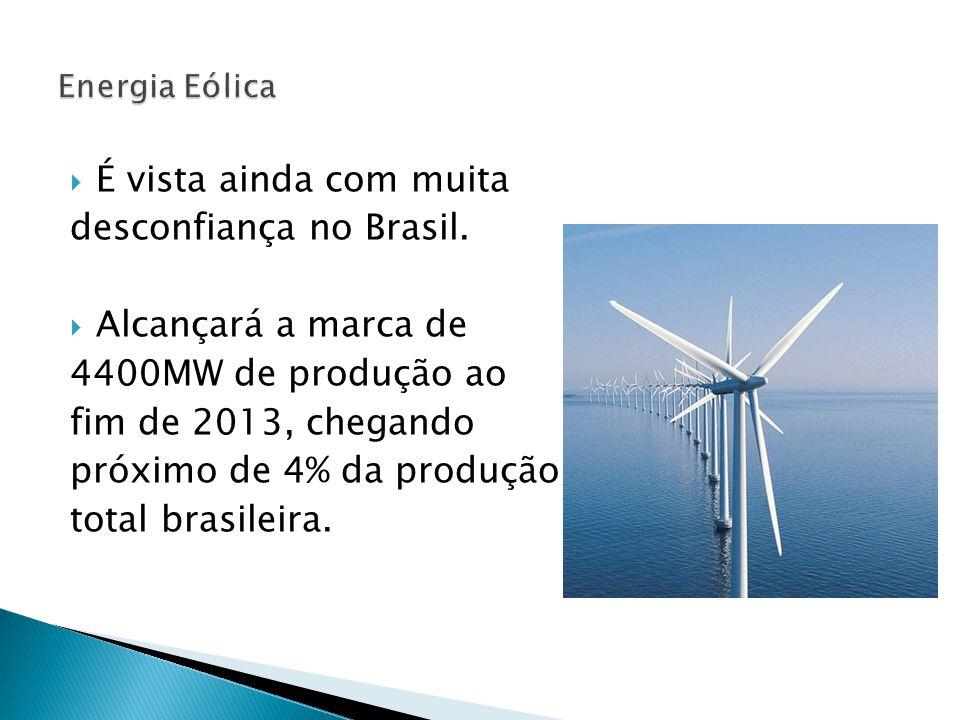  É vista ainda com muita desconfiança no Brasil.