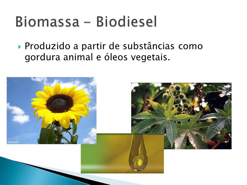 Produzido a partir de substâncias como gordura animal e óleos vegetais.