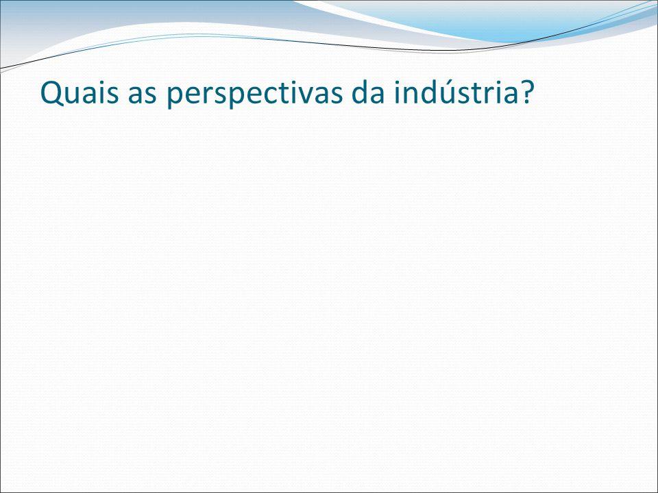 Quais as perspectivas da indústria?