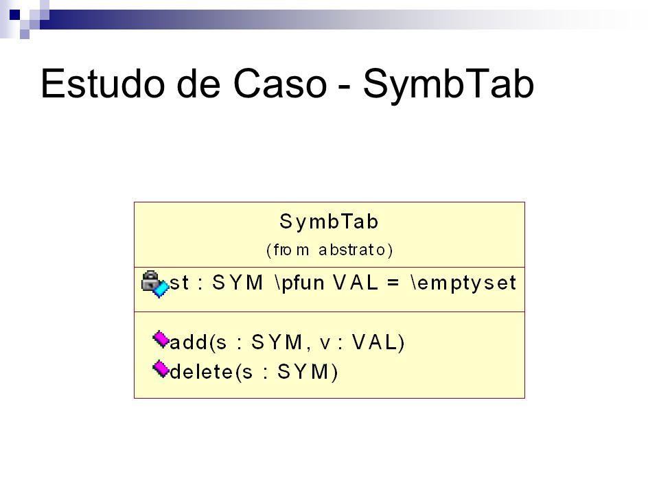 Estudo de Caso - SymbTab