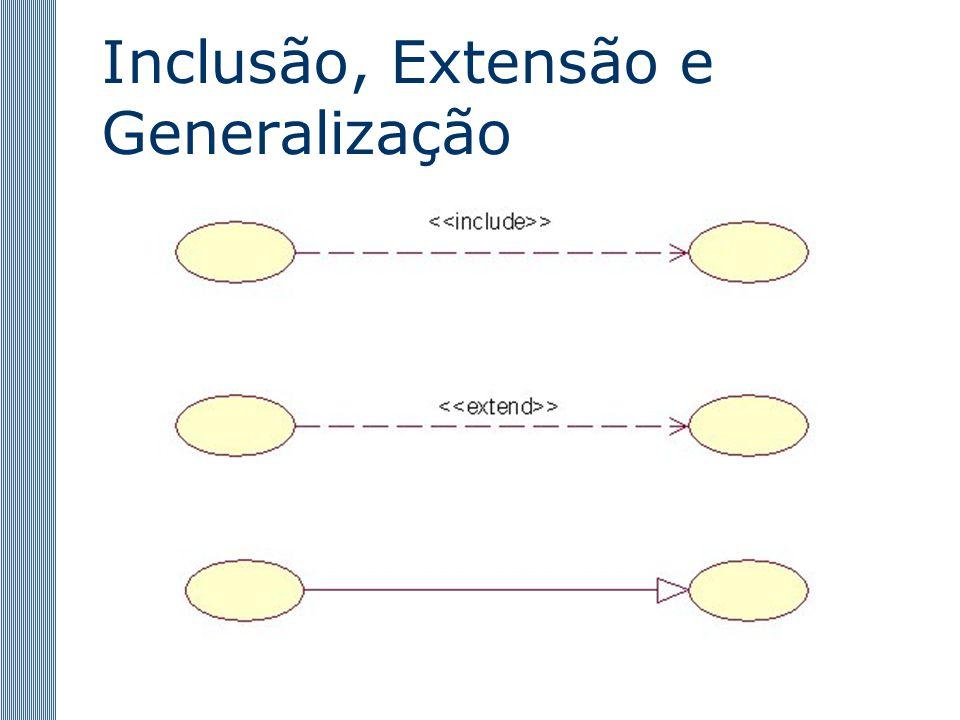 Inclusão, Extensão e Generalização