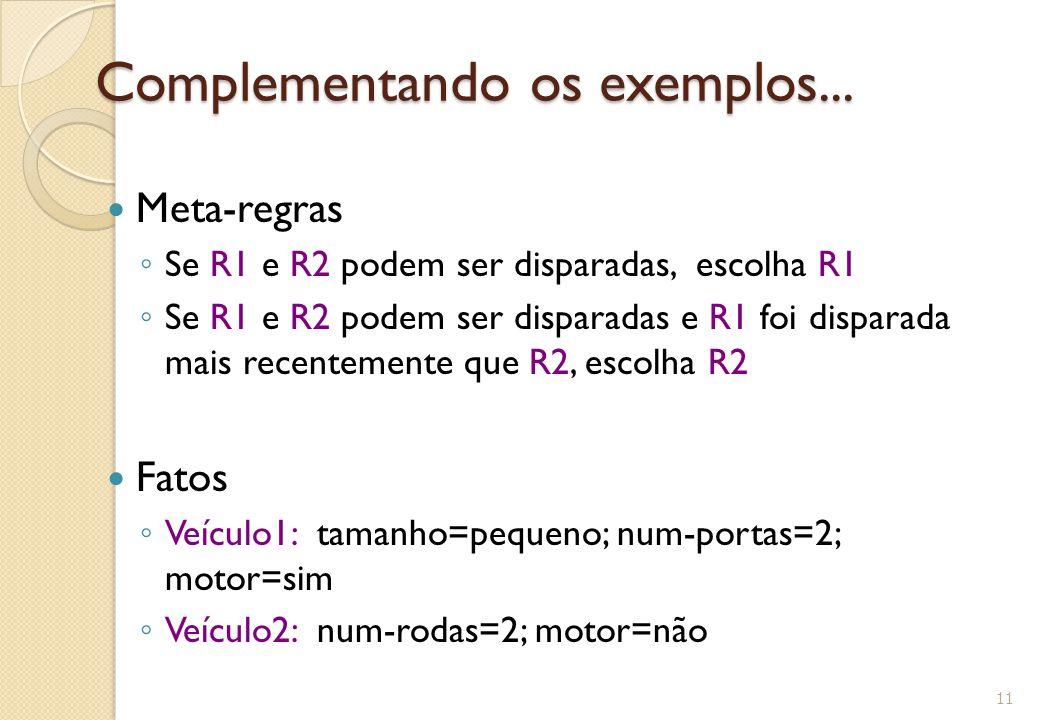 Complementando os exemplos...Complementando os exemplos...