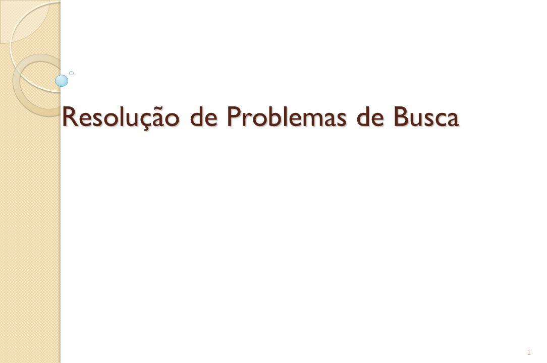 Resolução de Problemas de Busca 1