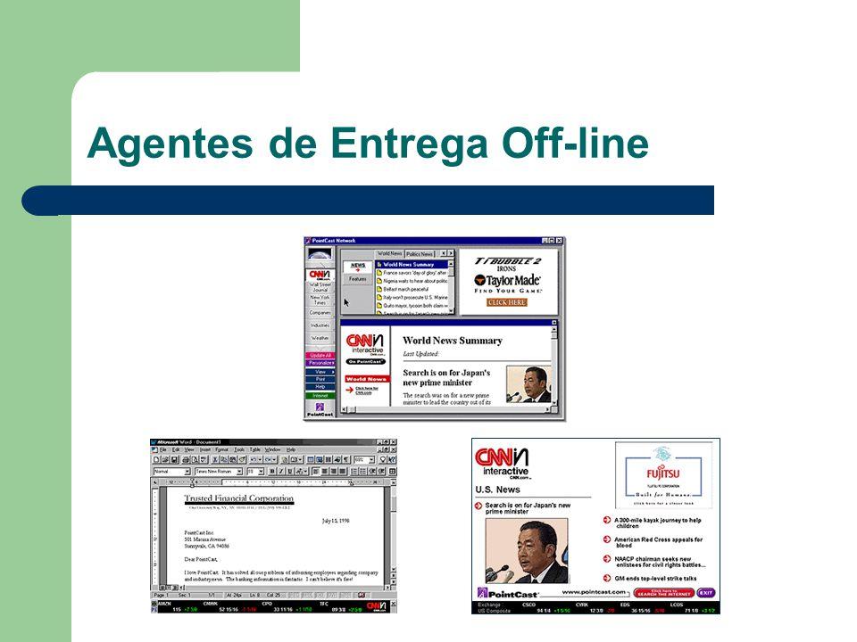 Agentes de Entrega Off-line