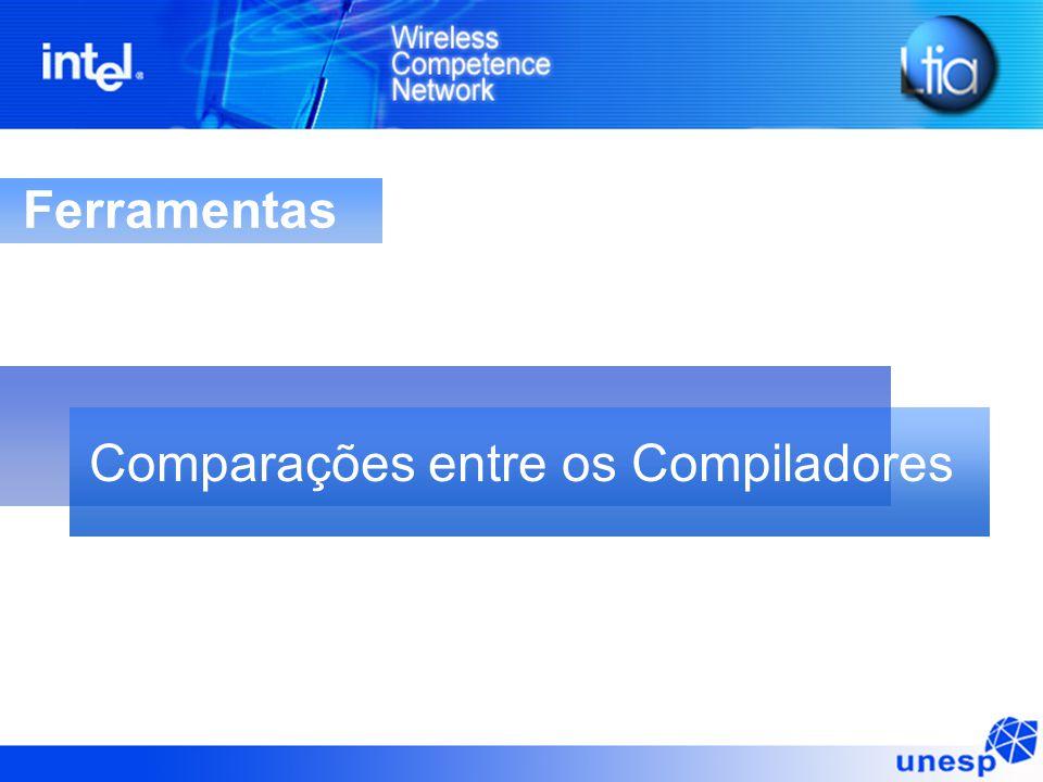 Ferramentas Comparações entre os Compiladores